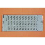 6 Line 19Cells Pocket Braille Writing Frame (Alum.)