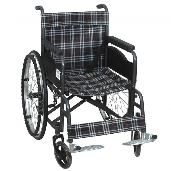 Active For All Foldable Wheel Chairs For Old People (Checks)