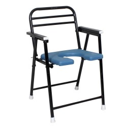 Active For All Heavy Duty Commode Chair Elderly Disabled Men and Pregnant Women