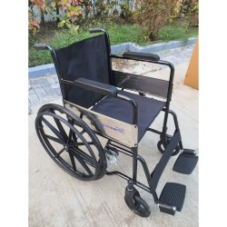 Active For All Heavy Duty Mag Wheel Wheelchair Powder Coated