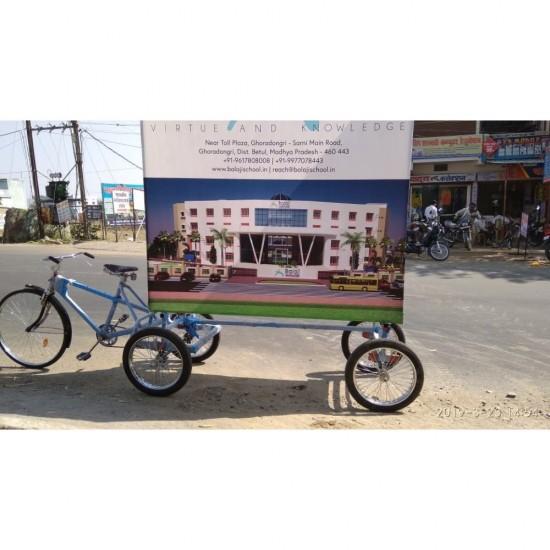 Advertising Cycle Five Wheeler