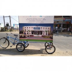 Advertising Cycle Five Wheeler