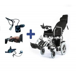 Attendant Control For Electric Power Wheelchair