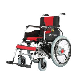 Foldable Power with Manual Wheel Chair