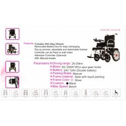 Heavy Duty Foldable Power Wheelchair