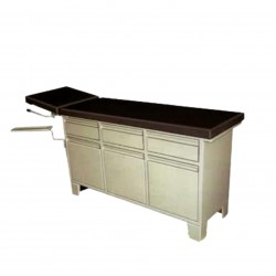 AFA3610 Examination Couch with Cabinet and Drawers.
