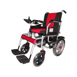 Power Wheel Chair with Electromagnetic Break