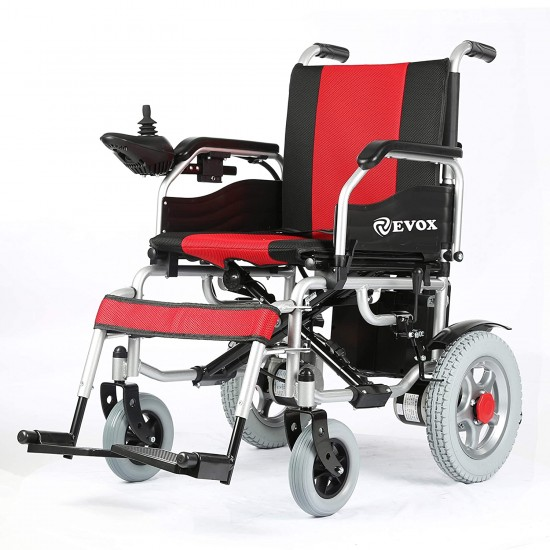 EVOX Power Wheel Chair with Small Wheels with Electromagnetic Breaks