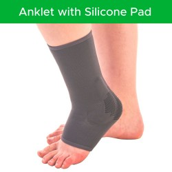 Anklet with Silicone Pad