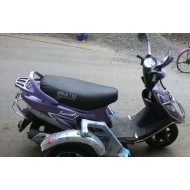 TVS Scooty Pep Plus Compact Side Wheel Attachment Kit