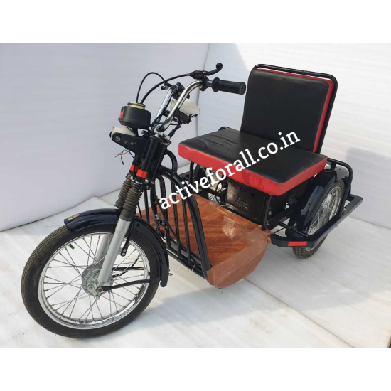 Three Wheeler Battery Operated Electric Scooter