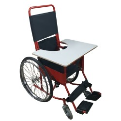AFA CP Wheelchair with desk.