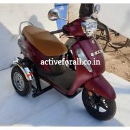 Compact Side Wheel Attachment Kit for Suzuki Access 125