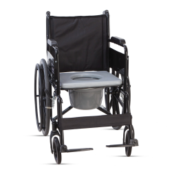 iCare Folding Commode Wheelchair