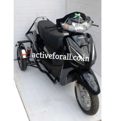 Side Wheel Attachment Kit For Honda Activa 6G